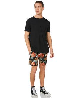 WASHED BLACK MENS CLOTHING ZANEROBE BOARDSHORTS - 619-FTWBLK