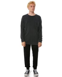 DARK CHARCOAL MENS CLOTHING RVCA TEES - R183094DCHAR