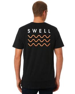 BLACK MELON MENS CLOTHING SWELL TEES - S5184013BKMEL