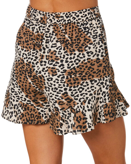 LEOPARD WOMENS CLOTHING O'NEILL SHORTS - 6321701LEP