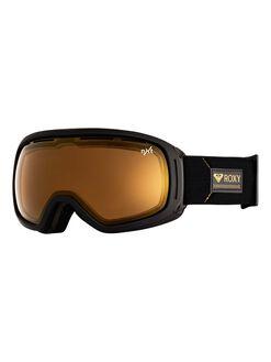 TRUE BLACK BOARDSPORTS SNOW ROXY GOGGLES - ERJTG03106-KVJ0