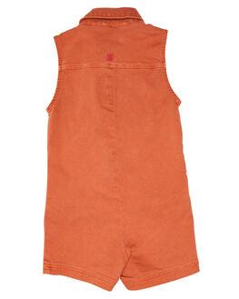 RUST KIDS GIRLS MUNSTER KIDS DRESSES + PLAYSUITS - MM201JS09KRUST