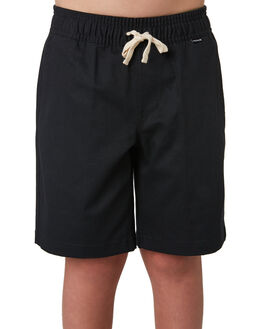 BLACK KIDS BOYS HURLEY SHORTS - CI7349010