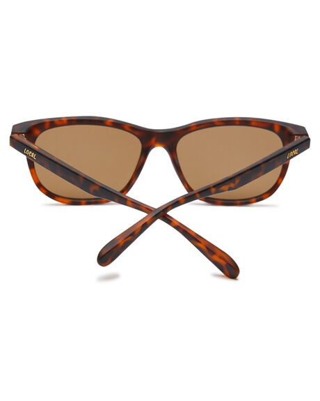 MATTE TORT MENS ACCESSORIES LOCAL SUPPLY SUNGLASSES - PORTTLM3
