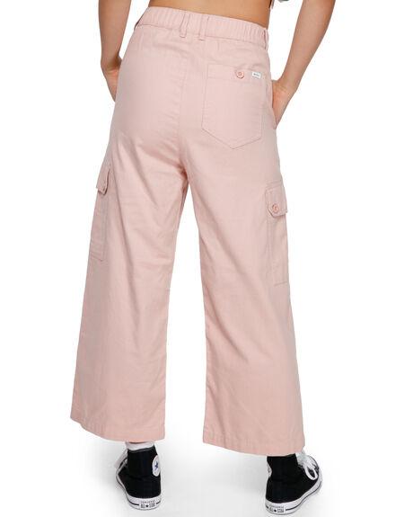 ROSE BLUSH WOMENS CLOTHING RVCA PANTS - RV-R291271-RSB