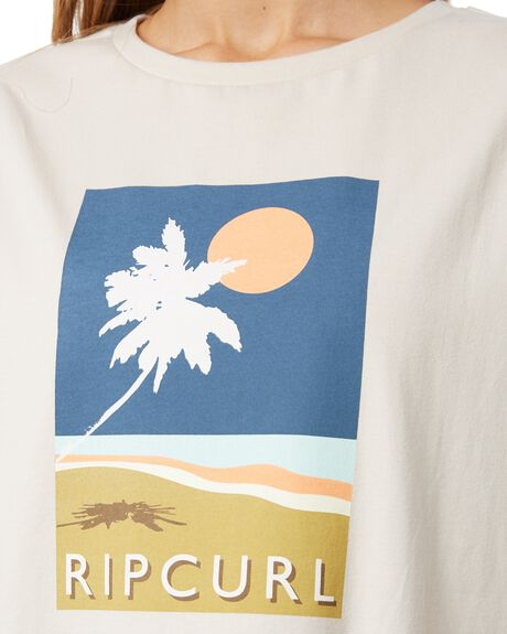 STONE OUTLET WOMENS RIP CURL TEES - GTEII92019