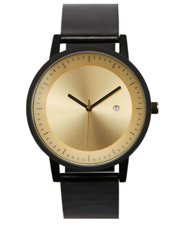 BLACKGOLD MENS ACCESSORIES SIMPLE WATCH CO WATCHES - SW03-06BLKGL