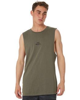SAGE MENS CLOTHING RVCA SINGLETS - R181012SAGE