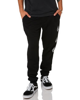 BLACK MENS CLOTHING VOLCOM PANTS - A1212002BLK