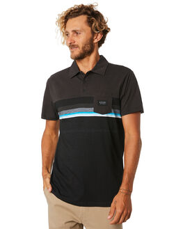 BLACK MENS CLOTHING RIP CURL SHIRTS - CPLCR13442