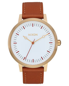 GOLD RED SADDLE WOMENS ACCESSORIES NIXON WATCHES - A1083004
