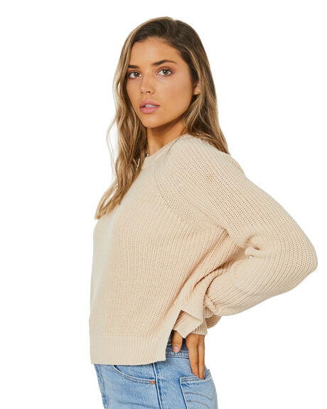 CREAM WOMENS CLOTHING NUDE LUCY KNITS + CARDIGANS - NU24222CRM