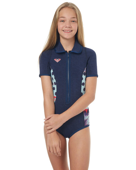 NAVY SURF WETSUITS ROXY SPRINGSUITS - ERGW503007BTE0