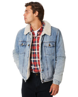 BOGAN BLUE MENS CLOTHING ROLLAS JACKETS - 155484320