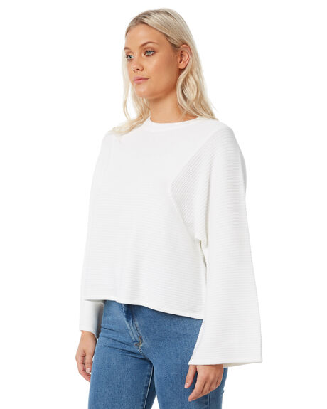 WHITE OUTLET WOMENS THE HIDDEN WAY KNITS + CARDIGANS - H8183148WHITE