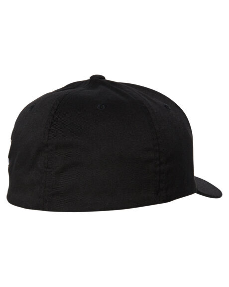 BLACK MENS ACCESSORIES VOLCOM HEADWEAR - D5511105BLK