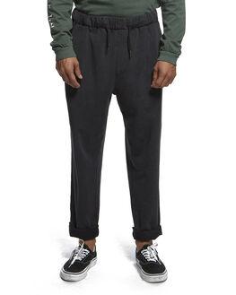 BLACK MENS CLOTHING QUIKSILVER PANTS - EQYFB03185-KVJ0