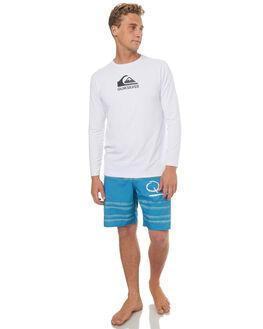 WHITE SURF RASHVESTS QUIKSILVER MENS - UQYWR03053WBB0