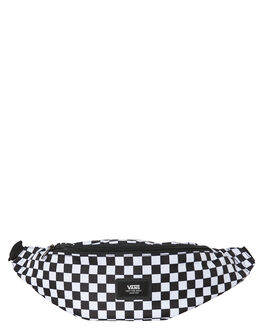 BLACK WHITE CHECK MENS ACCESSORIES VANS BAGS + BACKPACKS - VN0A45GXHU0CHEC