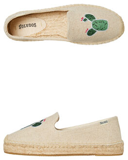 SAND WOMENS FOOTWEAR SOLUDOS FLATS - 1000523-270SAND