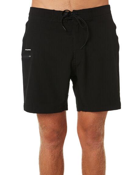 BLACK MENS CLOTHING RUSTY BOARDSHORTS - BSM1381BLK