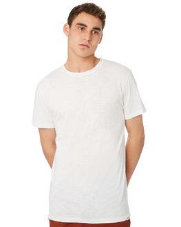 WHITE MENS CLOTHING RHYTHM TEES - OCT18M-CT01-WHT