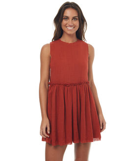 RED RUST WOMENS CLOTHING RUE STIIC DRESSES - SO1736YREDR