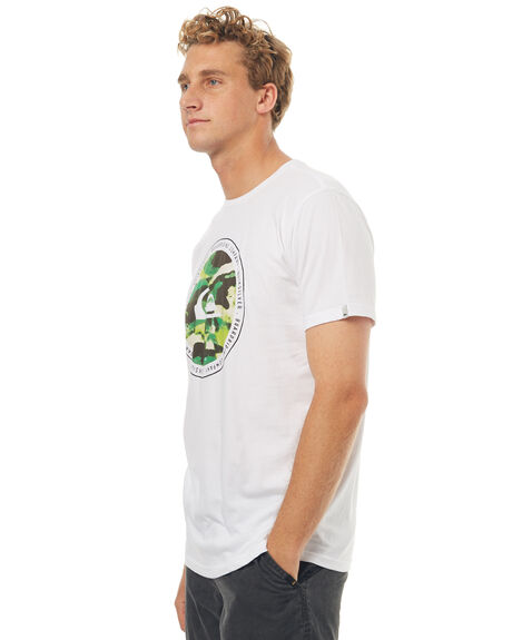 WHITE MENS CLOTHING QUIKSILVER TEES - EQYZT04715WBB0