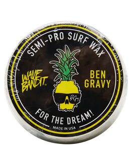 NATURAL BOARDSPORTS SURF CATCH SURF WAX - WBWAXNAT