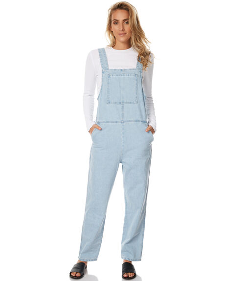SEA BLUE WOMENS CLOTHING ASSEMBLY PLAYSUITS + OVERALLS - AW-S1733SBLU