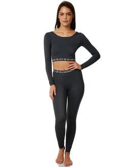 BLACK SANDS WOMENS CLOTHING BILLABONG ACTIVEWEAR - 6772012BLKS