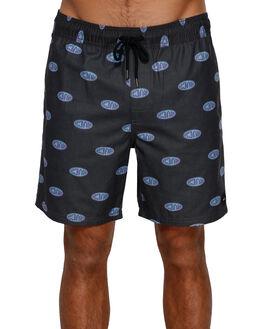 PIRATE BLACK MENS CLOTHING RVCA BOARDSHORTS - RV-R391403-PTK