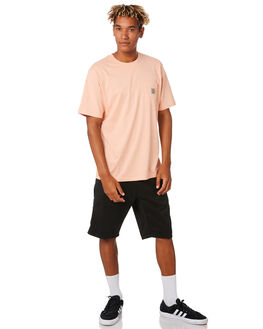 BLACK MENS CLOTHING CARHARTT SHORTS - I024892-89BLK