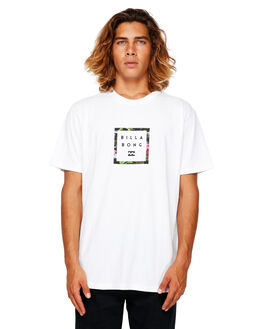 WHITE MENS CLOTHING BILLABONG TEES - BB-9591030-WHT