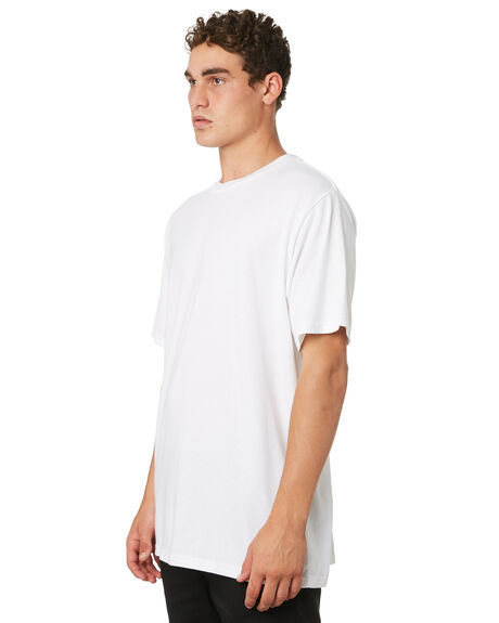 OPTIC WHITE MENS CLOTHING ELEMENT TEES - 186023OPWHT