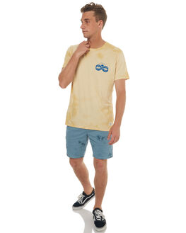 BEIGE CLOUD MENS CLOTHING KATIN TEES - TSINFS17BICLO