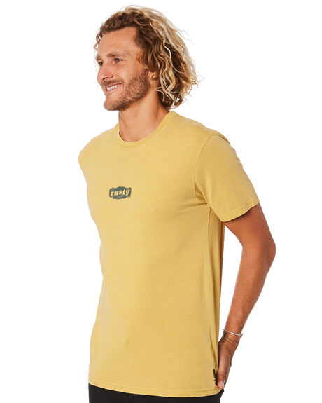 OCHRE MENS CLOTHING RUSTY TEES - TTM2337OCH