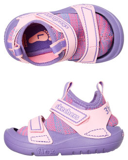 PINK KIDS GIRLS SKECHERS FOOTWEAR - 82165NPKPR