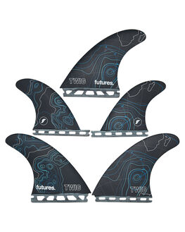 BLUE BOARDSPORTS SURF FUTURE FINS FINS - TWG-090218BLUE
