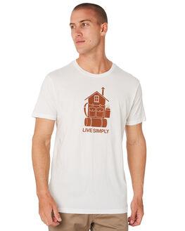 WHITE MENS CLOTHING PATAGONIA TEES - 38428WHI