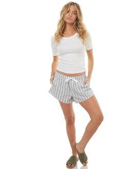 STRIPE WOMENS CLOTHING ELWOOD SHORTS - W73603A7B