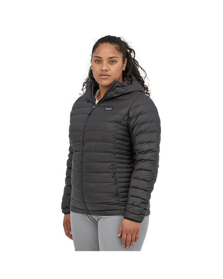 BLACK WOMENS CLOTHING PATAGONIA JACKETS - 84683-BLK-XS