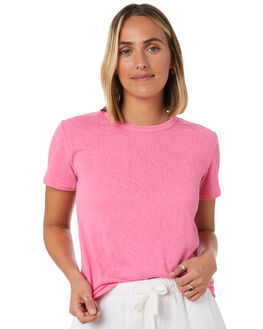 PINK WOMENS CLOTHING SWELL TEES - S8201014PINK