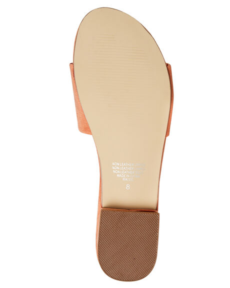 CORAL OUTLET WOMENS THERAPY SLIDES - SOLE-6244COR