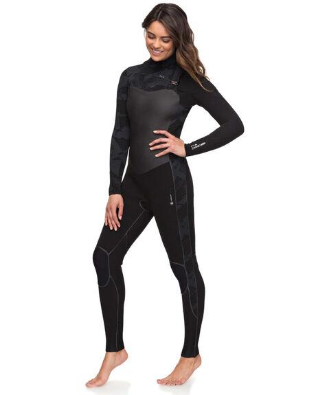 BLACK BOARDSPORTS SURF ROXY WOMENS - ERJW103031-KVJ0