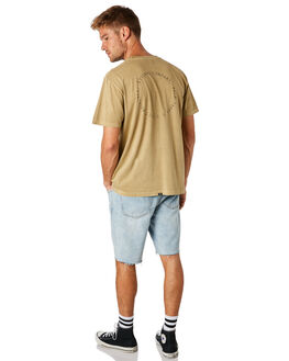 TAN MENS CLOTHING THRILLS TEES - TS8-136CTAN
