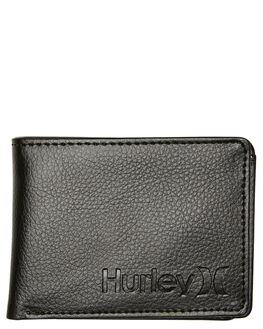 BLACK MENS ACCESSORIES HURLEY WALLETS - HU0095010