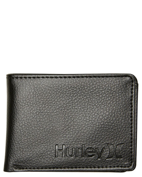 BLACK MENS ACCESSORIES HURLEY WALLETS - HU0095010