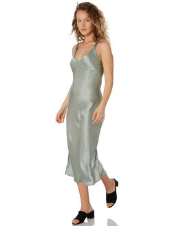 MINT OUTLET WOMENS FEATHER DRUM DRESSES - FDW002MINT