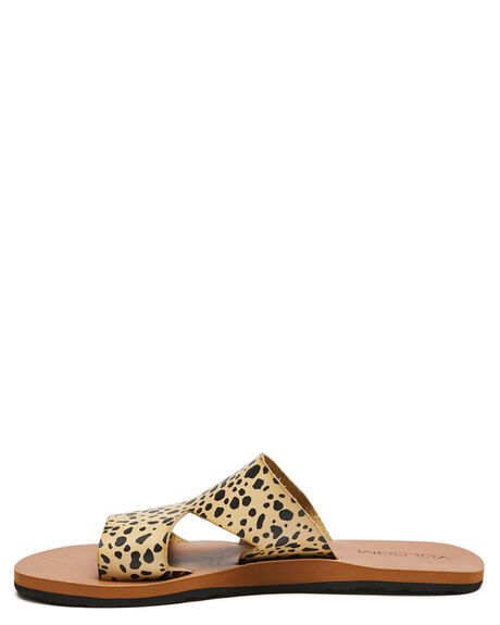 LEOPARD WOMENS FOOTWEAR VOLCOM FASHION SANDALS - W0812013LEO